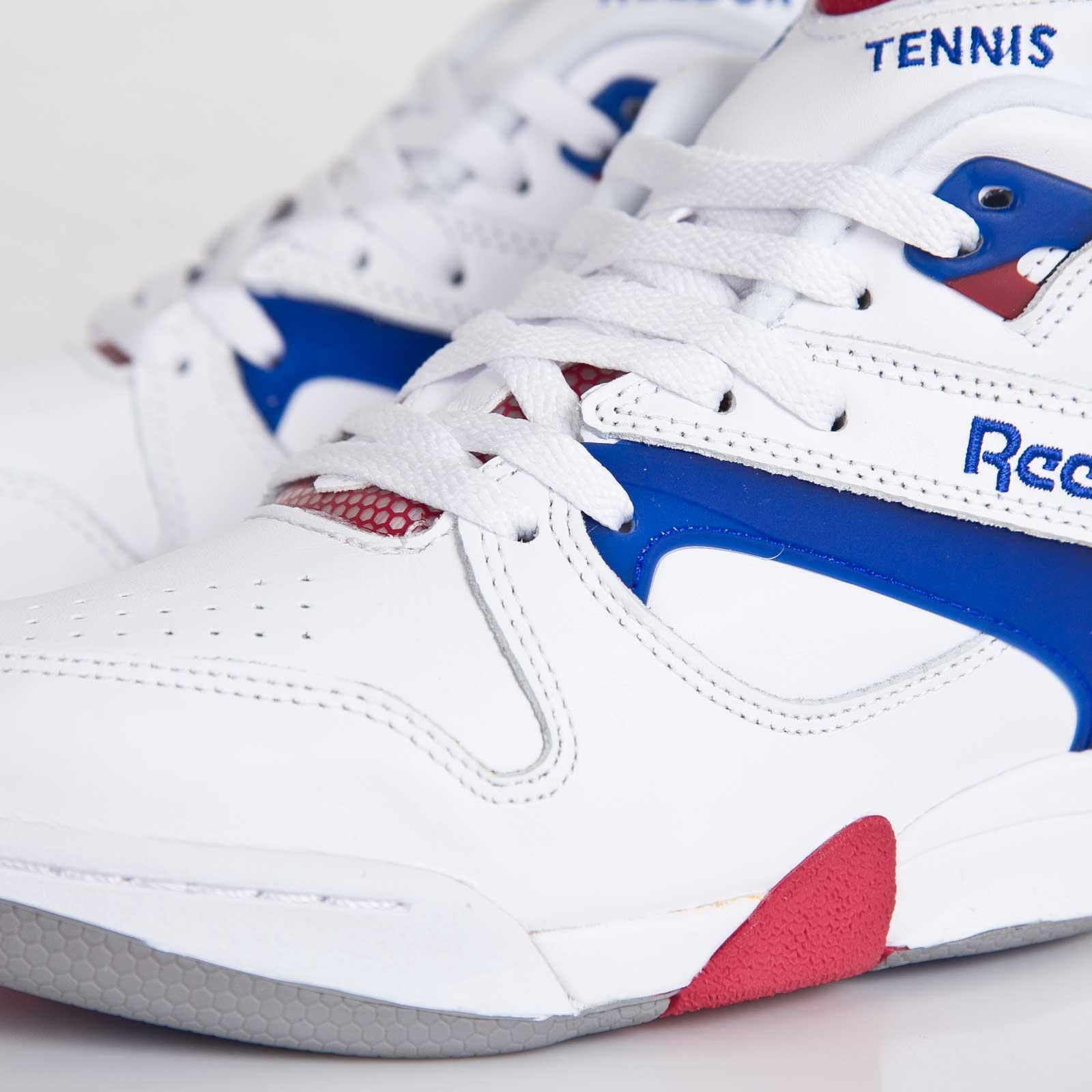 9604216bc5b6 reebok court victory pump white royal crimson
