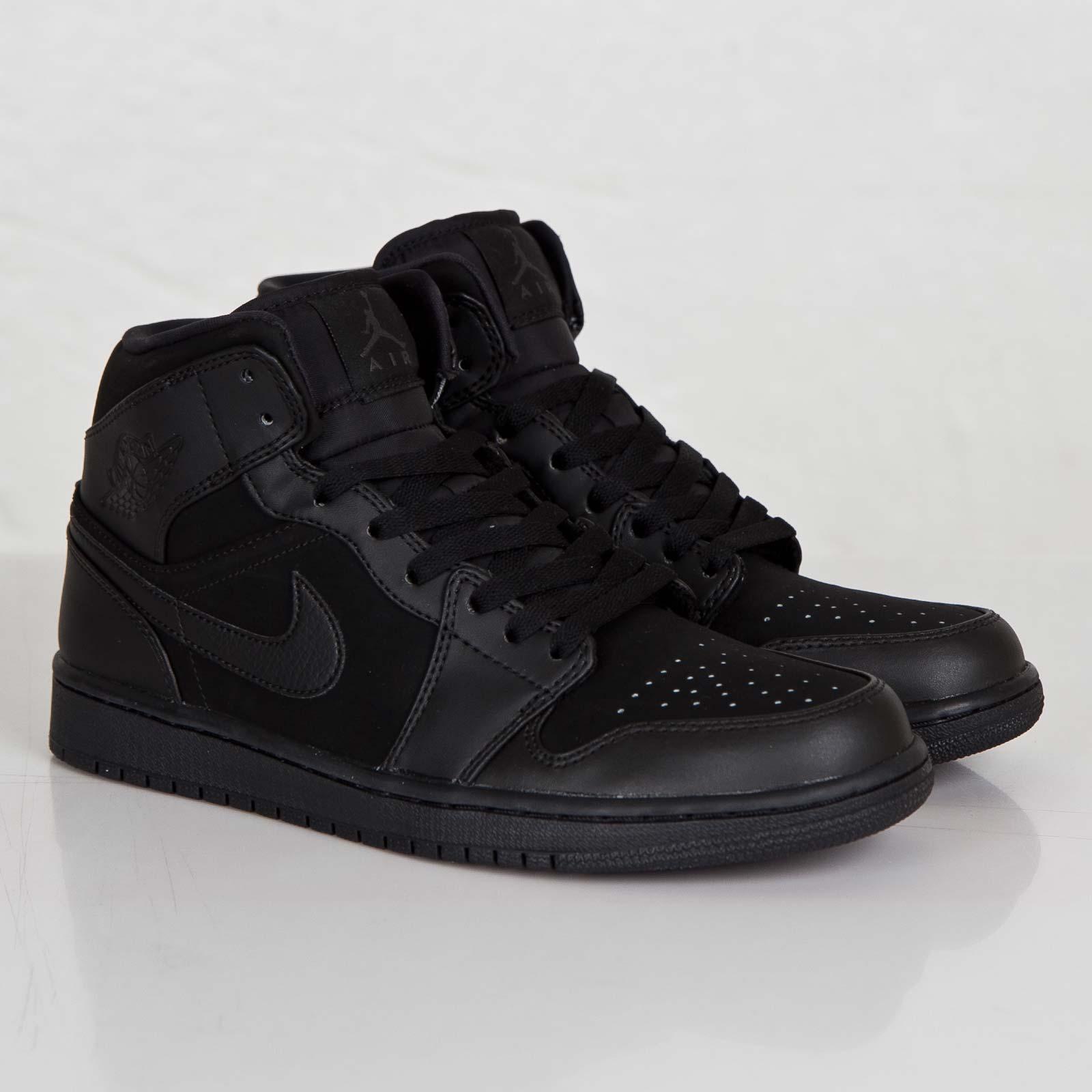 f0863b302ff3dc Jordan Brand Air Jordan 1 Mid - 554724-011 - Sneakersnstuff ...