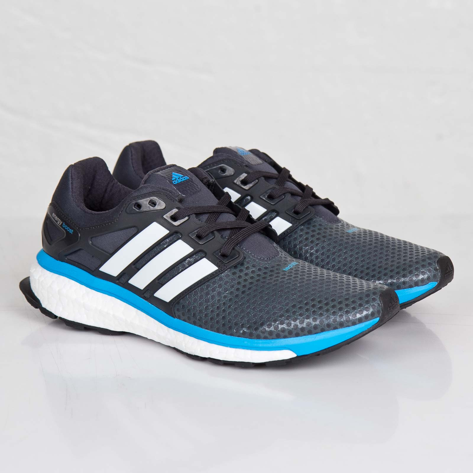 ADIDAS Energy Boost 2.0 ATR (grey blue white) unboxing & on feet review