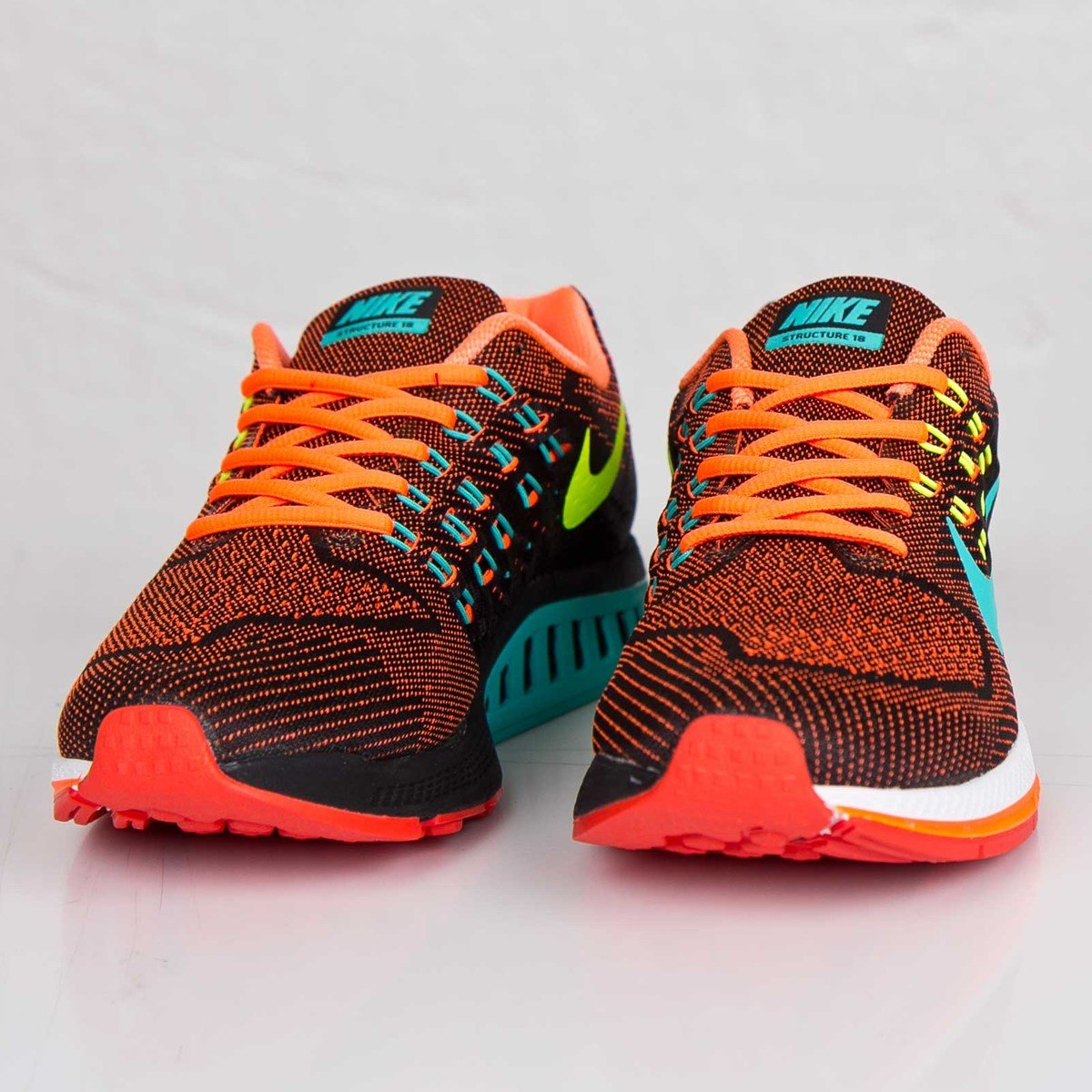 fd76b118 mens nike air zoom structure 18 running shoes hyper