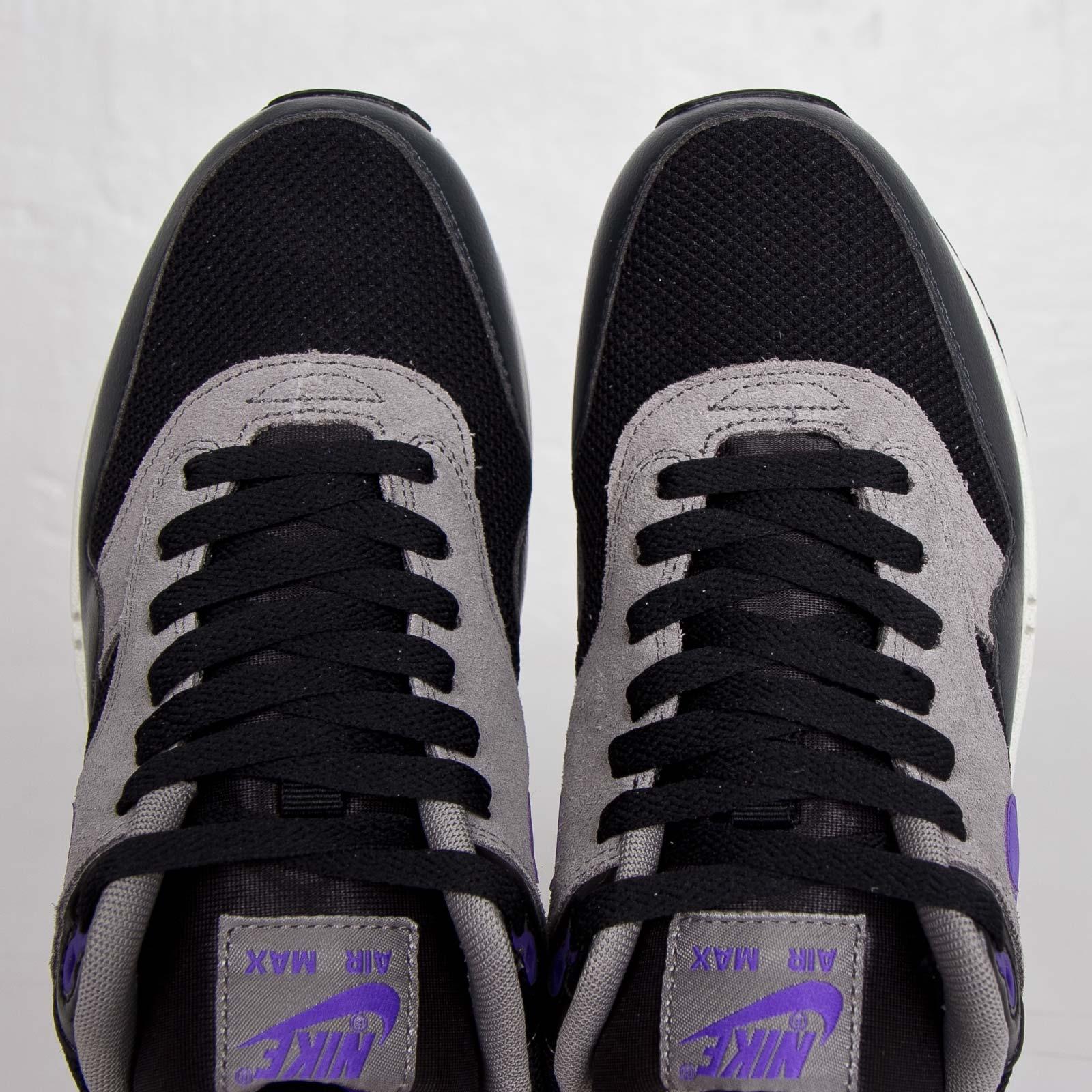 Nike Air Max 1 Essential (Black Hyper Grape Light Ash)