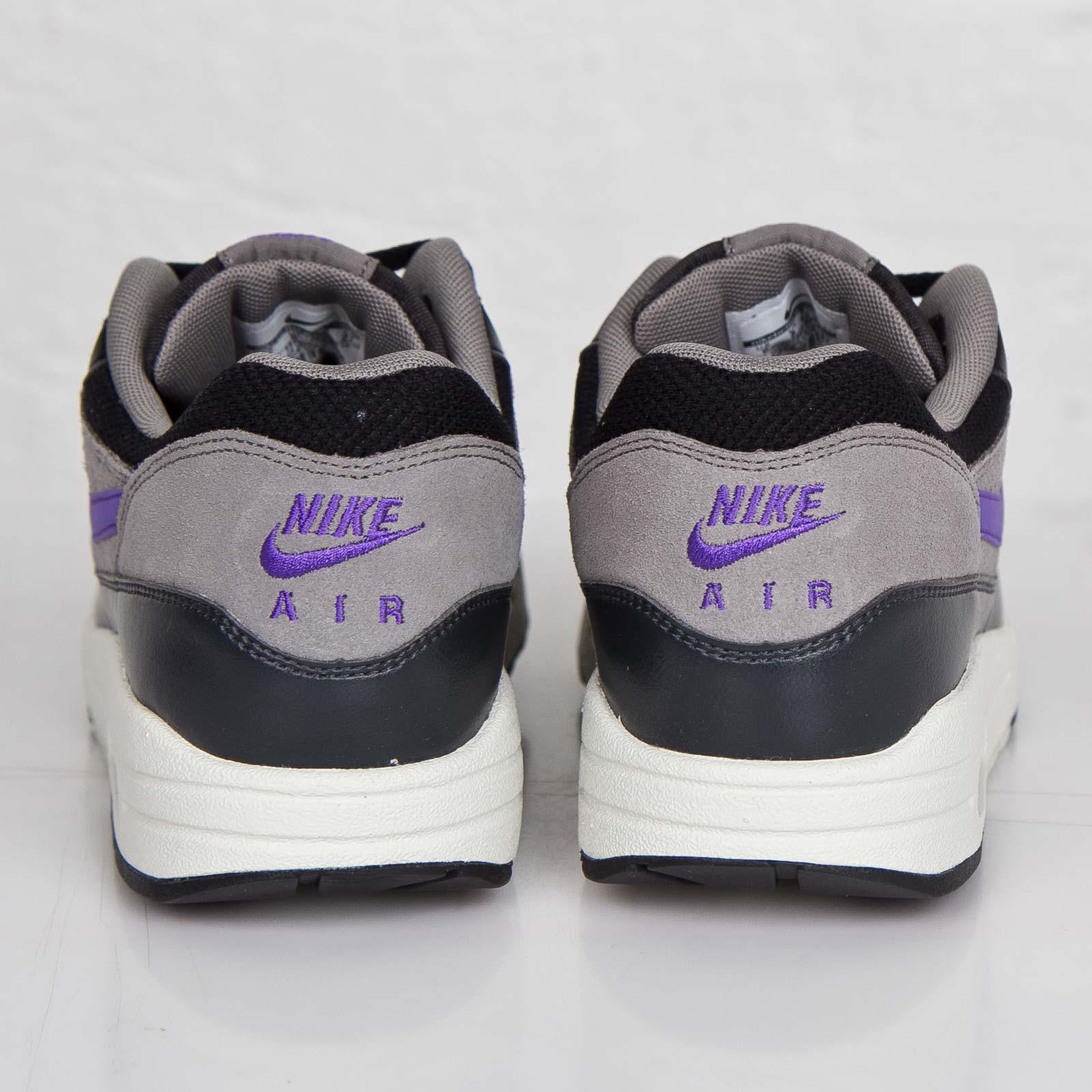 Nike Air Max 1 Black Hyper Grape Light Ash