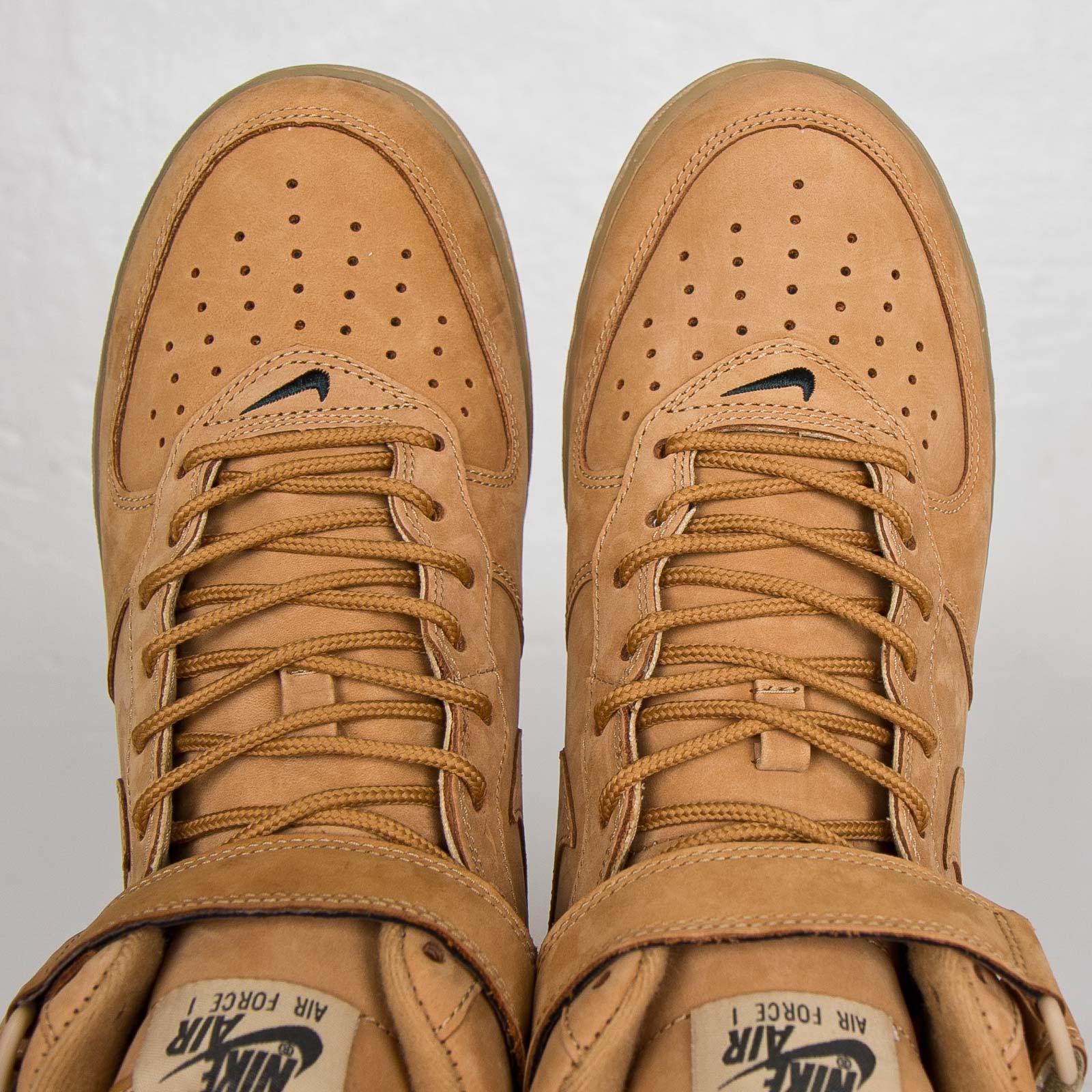 billig Nike Air Force 1 '07 PRM Orange Just Do It Collection