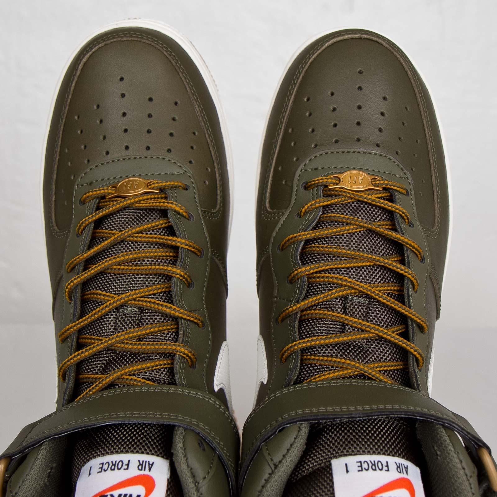 Nike Air Force 1 Mid Medium Olive Sail Light Brown