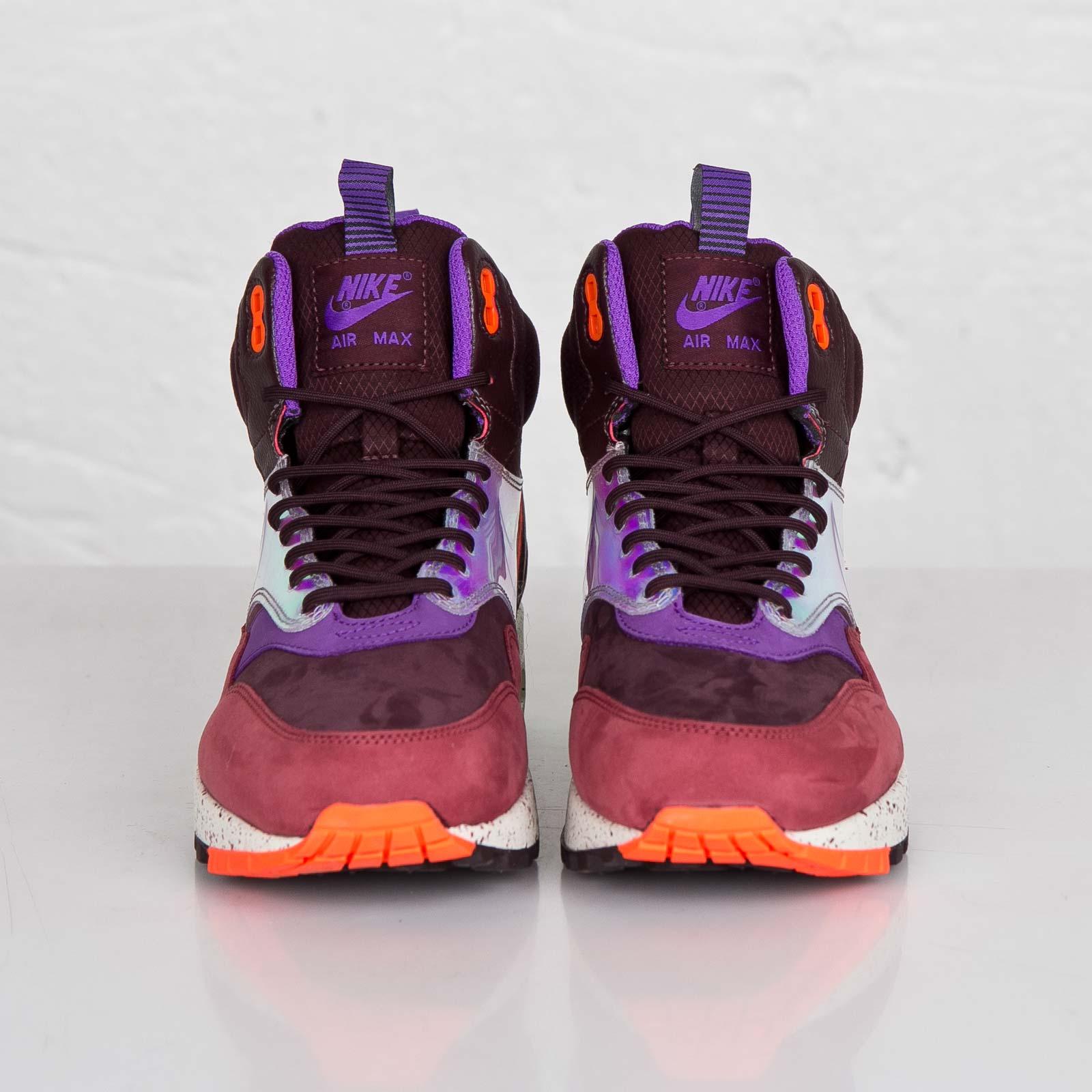 65c246a633 Nike WMNS Air Max 1 Mid Sneakerboot WP - 685269-600 - Sneakersnstuff |  sneakers & streetwear online since 1999