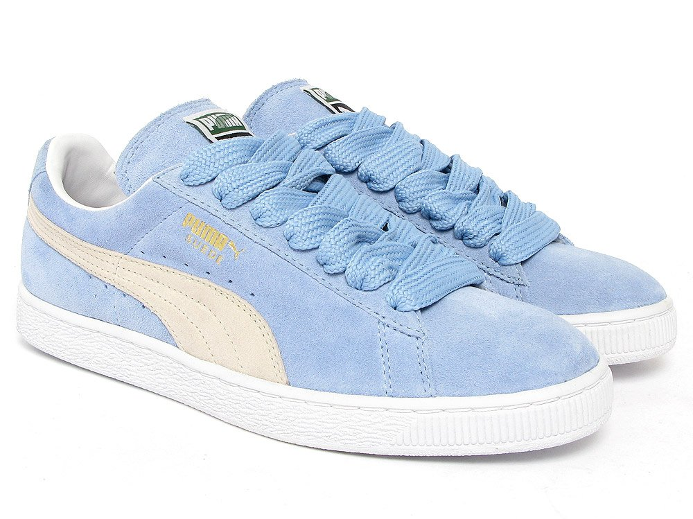 puma suede powder blue