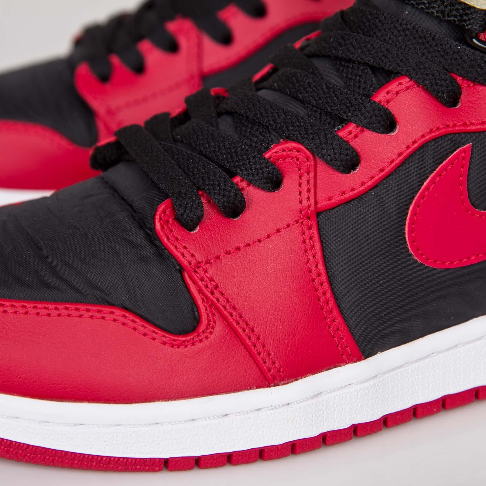 1d7f9ef0129 ... black gym red fad67 449ef  switzerland jordan brand air jordan 1 high  strap c6631 37490