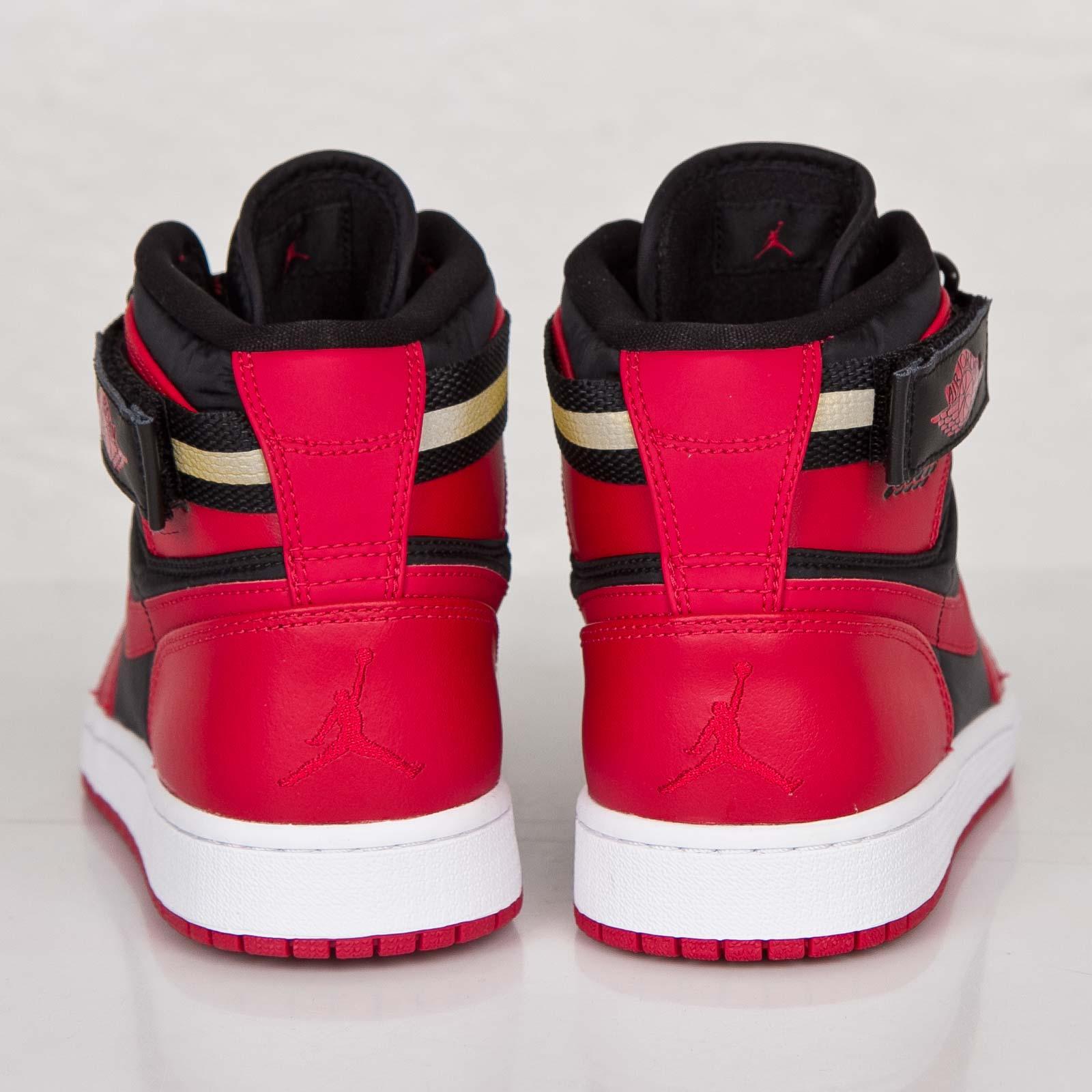 e6388c54a41 switzerland air jordan 1 high strap black gym red white 65aee 5a8f8