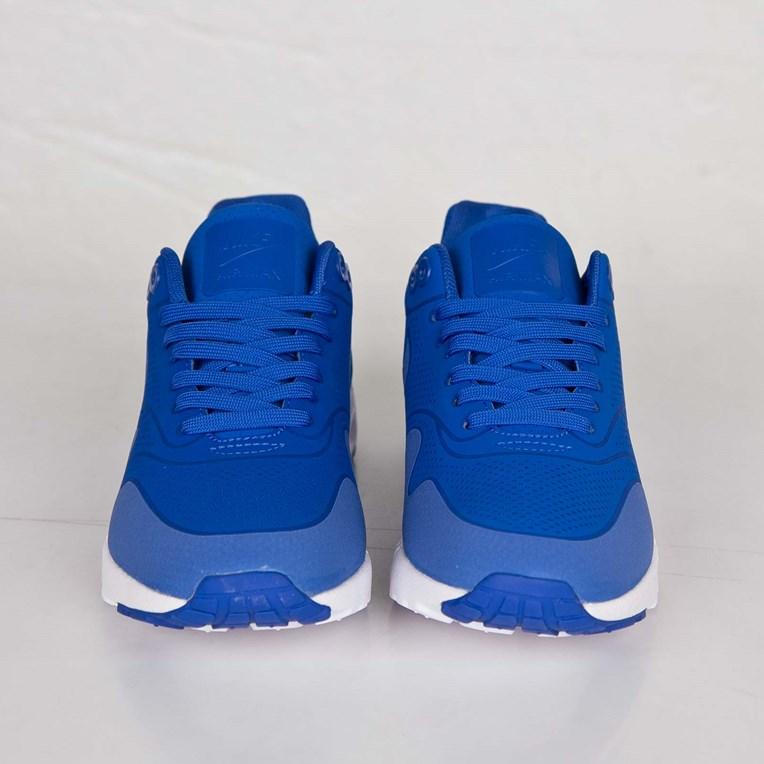 Frauen Blau Nike Air Max 1 Ultra Moire Laufschuhe Größe 36
