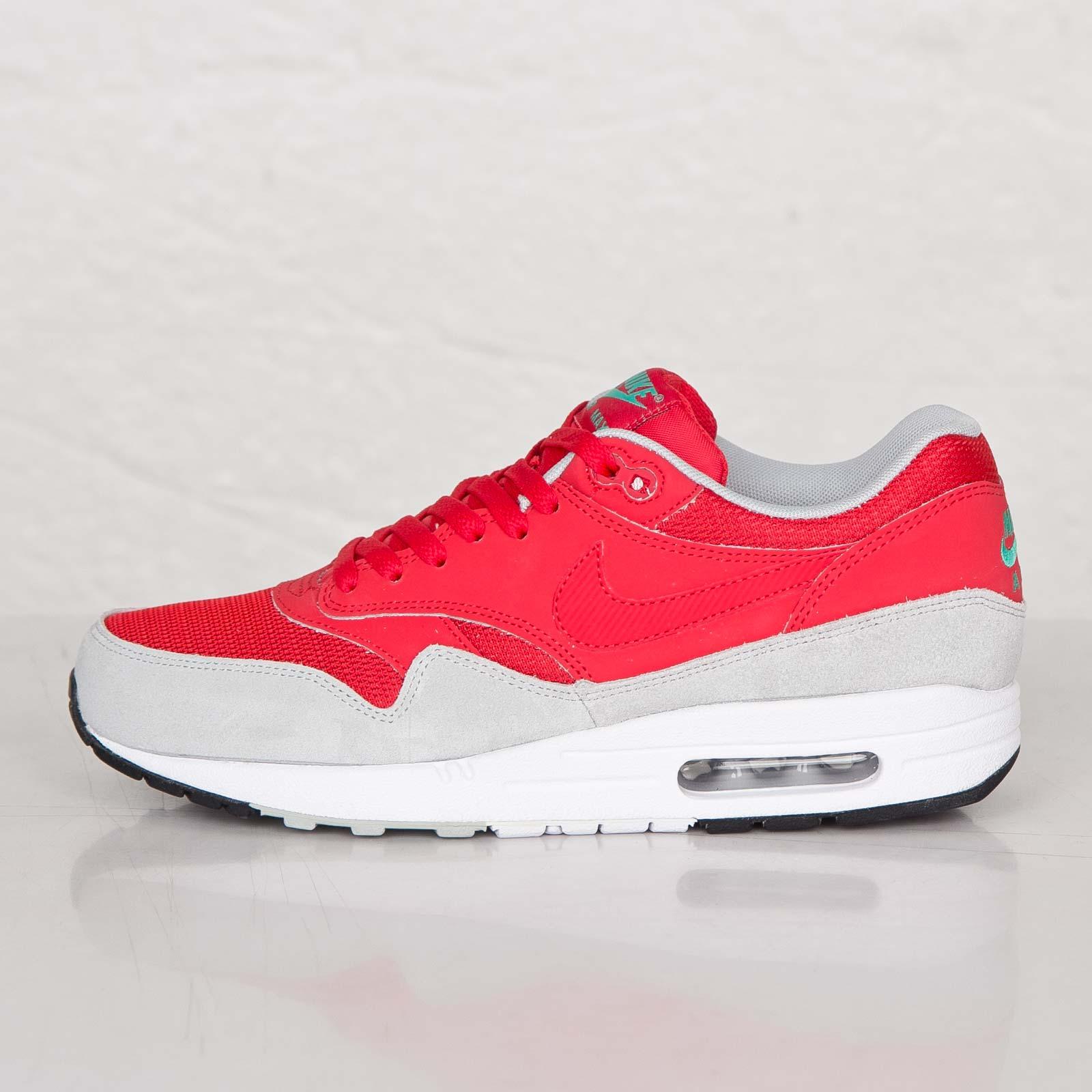Nike Air Max 1 Essential Daring Red Trainers 537383 600 | eBay