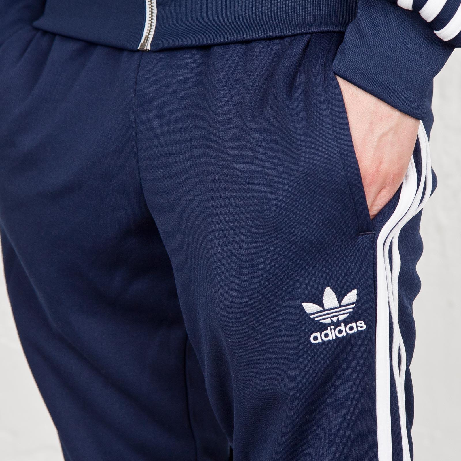 adidas Originals Superstar Cuffed Track Pants | Black