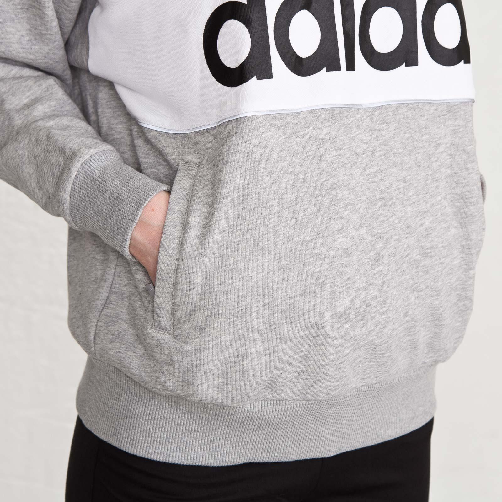 adidas hoodie grå dam
