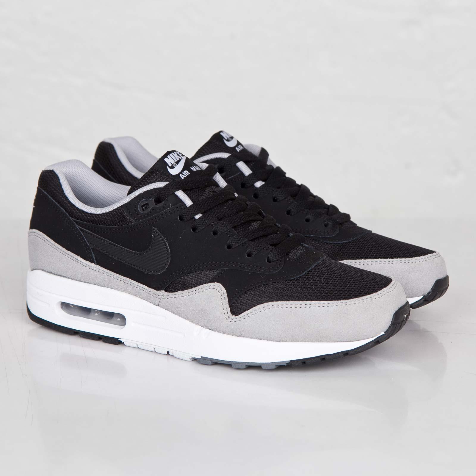 Nike Air Max 1 Essential Grey Suede – 537383 021  AFEW STORE