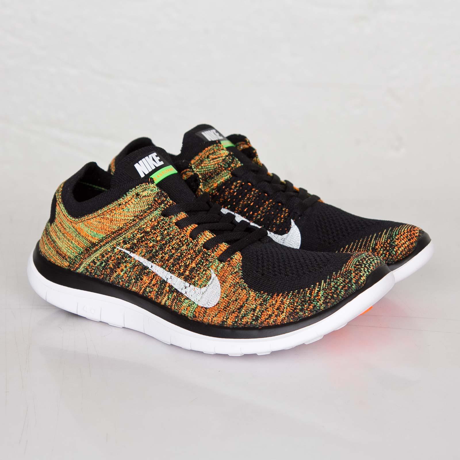 744b1f754f15 Nike Free 4.0 Flyknit - 631053-006 - Sneakersnstuff