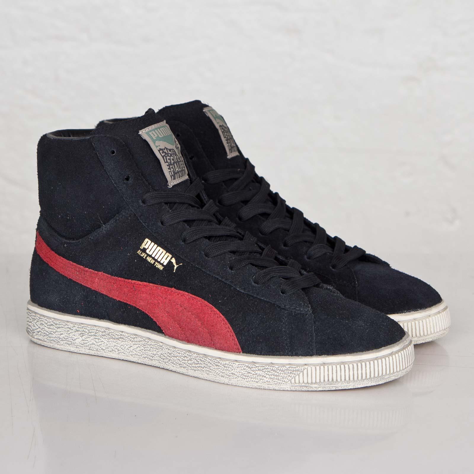 bb909f9c3aa Puma Suede Mid x ALIFE - 358507-01 - Sneakersnstuff