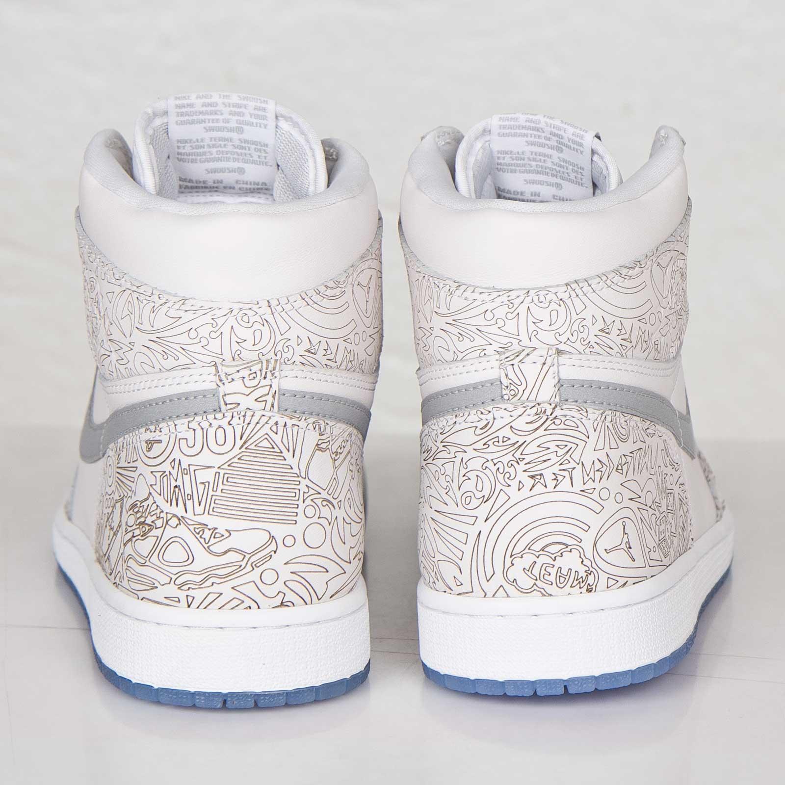 Jordan Brand Air Jordan 1 Retro Hi OG Laser - 705289-100 ... 39f77ab47a84