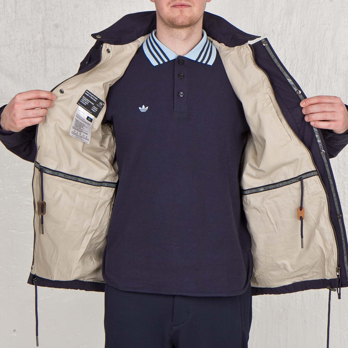 Adidas Haslingden Jacket Spzl S07190 Sneakersnstuff Sneakers Streetwear Online Since 1999
