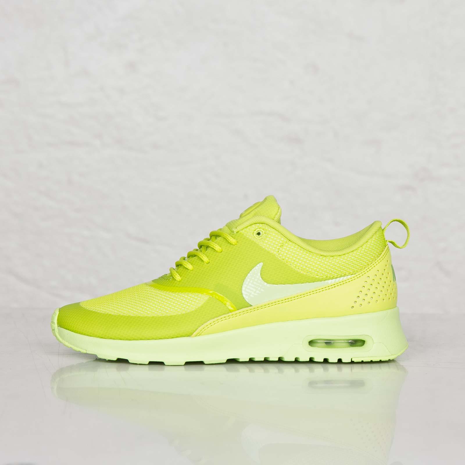 Wmns Nike Air Max Thea 599409 Neongrün 304 Damen Sneaker