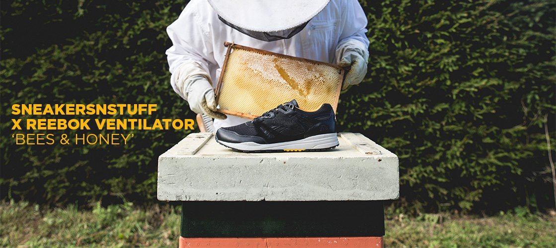 Sneakersnstuff x Reebok 'Bees & Honey'