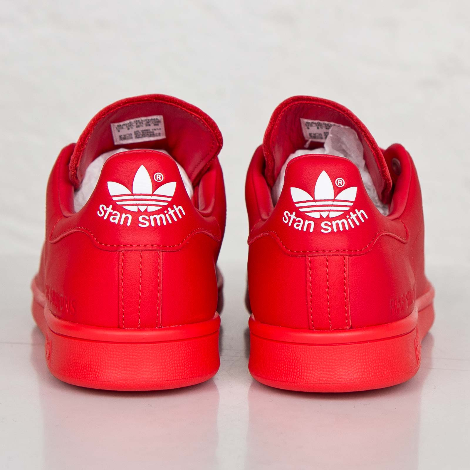 adidas stan smith dam röd