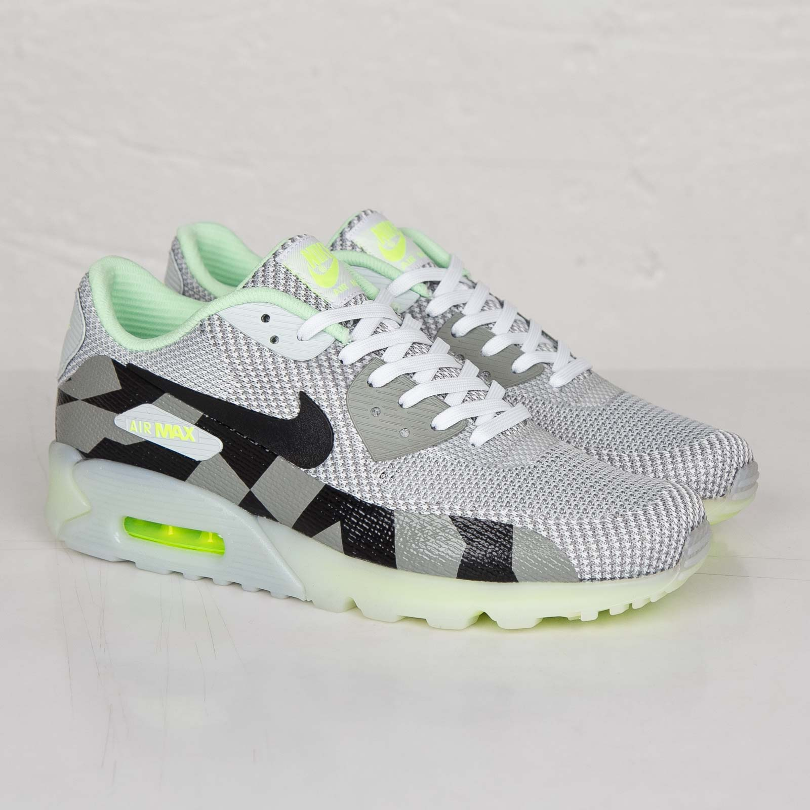 Nike Air Max 90 Knit Jacquard Ice QS 744553 100 Sneakersnstuff