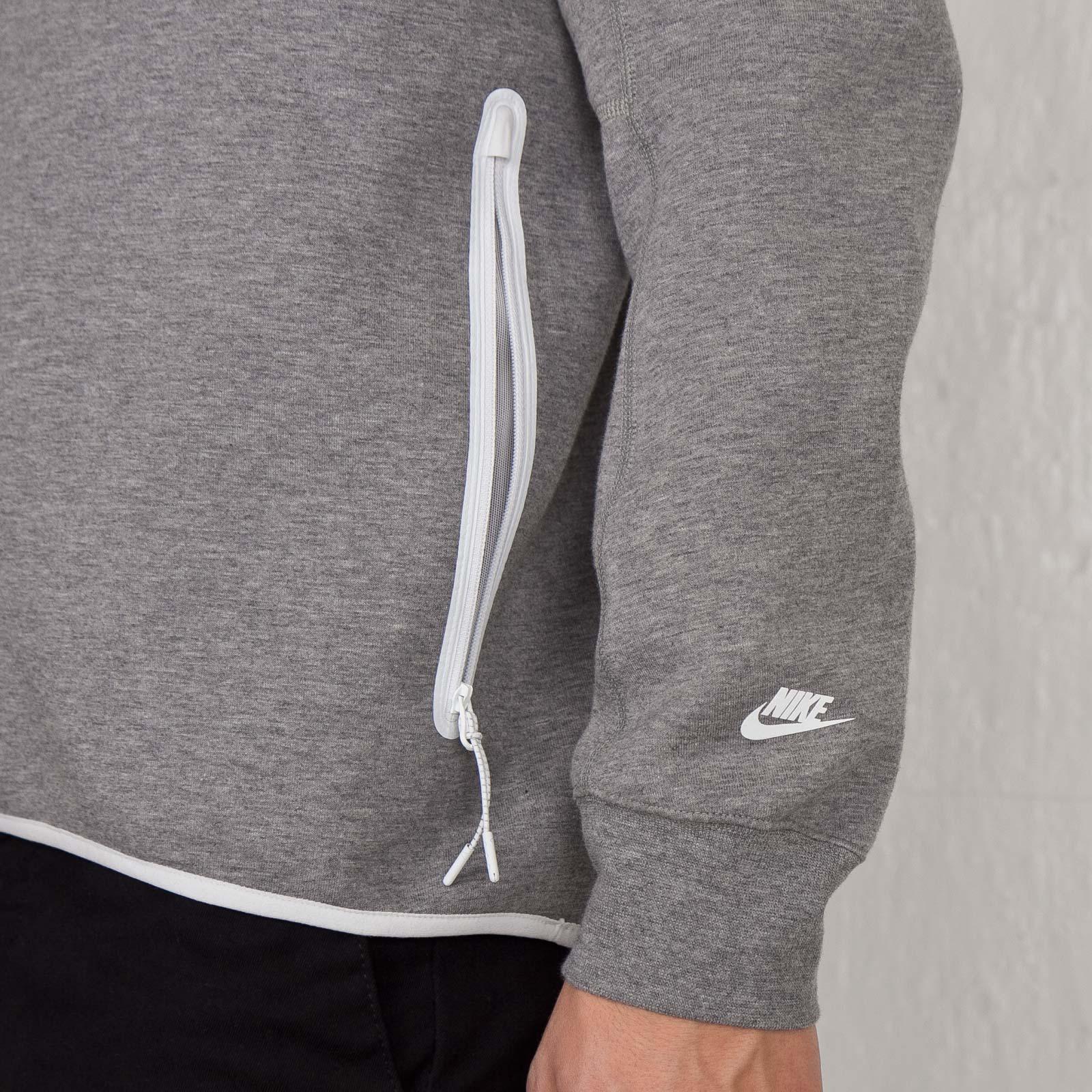 70881ac82de8 Nike White Label Tech Fleece Crew -1MM - 642055-091 - Sneakersnstuff ...