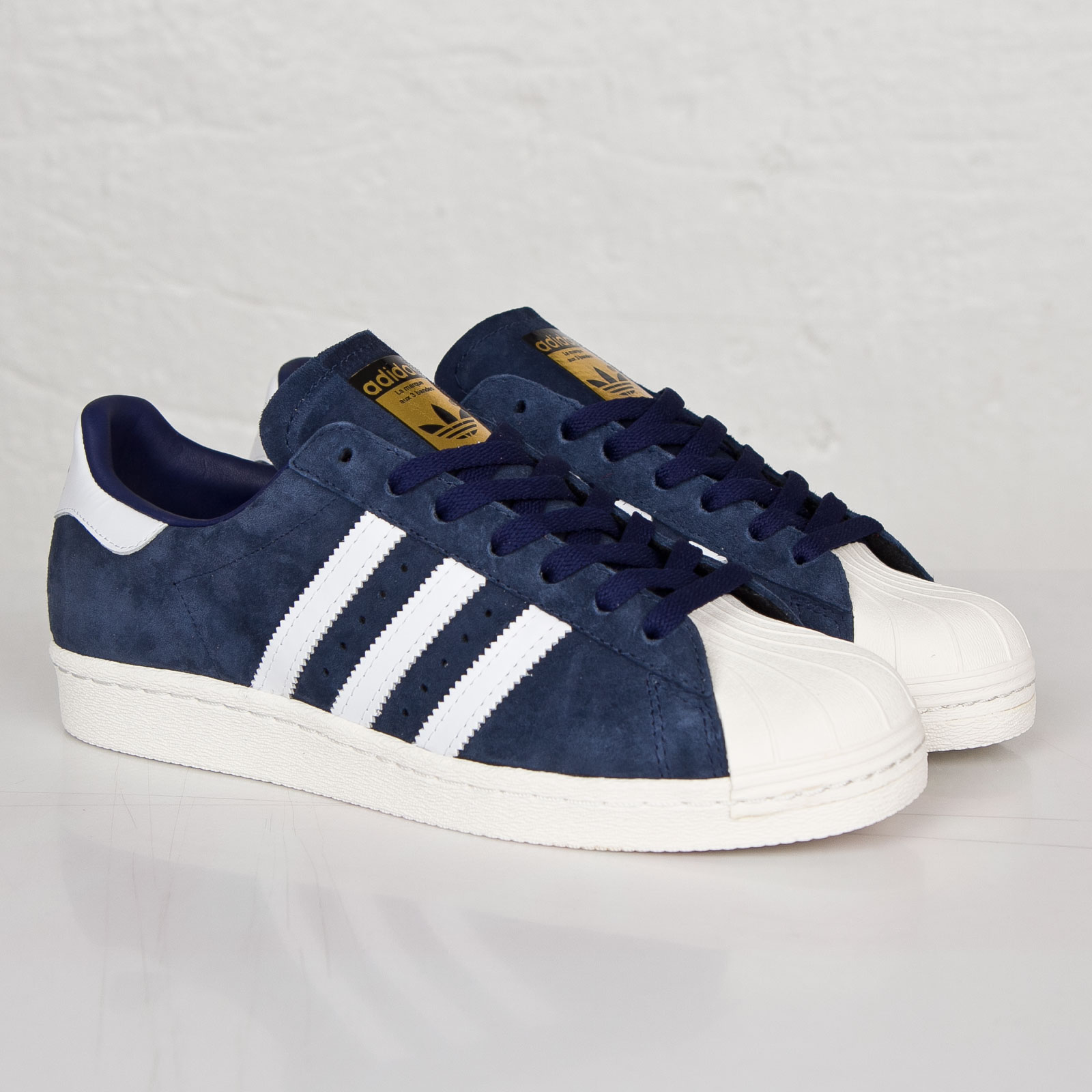 lowest price a9a0f c96bd adidas Superstar 80s Deluxe Suede - B35988 - Sneakersnstuff ...