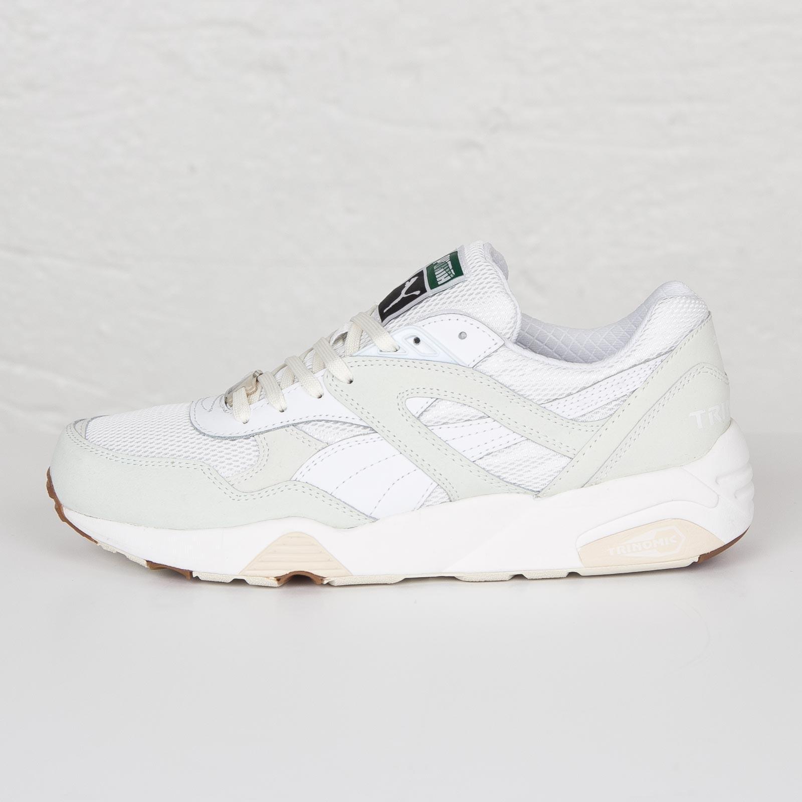 Puma R698 White On White - 358142-01 - Sneakersnstuff  de514af6d