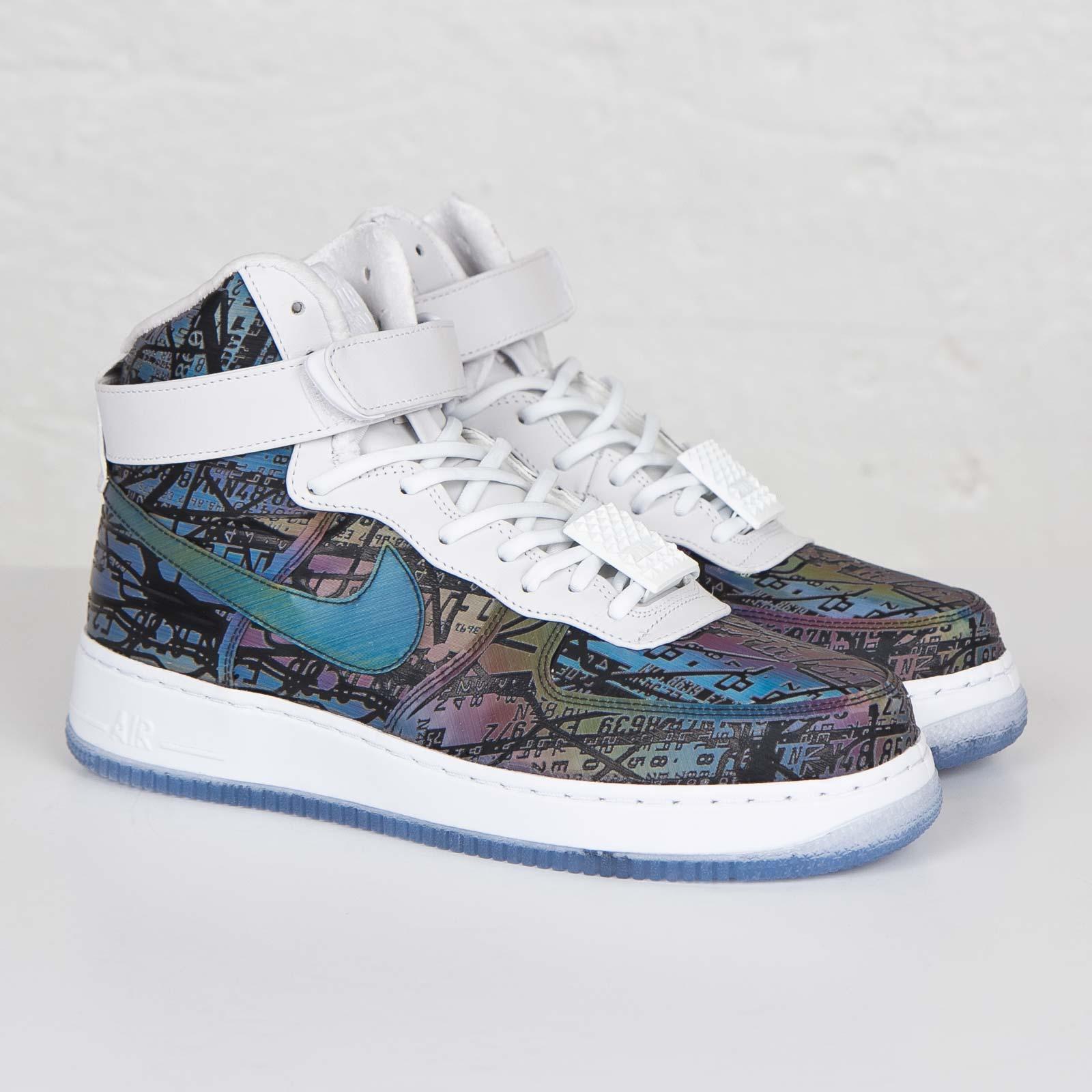 b831c04d80051 Nike Air Force 1 Hi Cmft LW Premium QS - 812981-900 - Sneakersnstuff ...