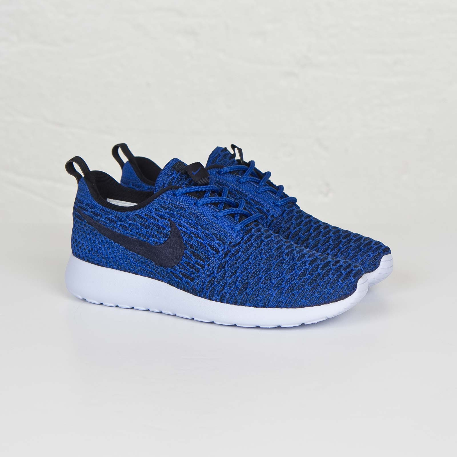 Details about New Nike Rosherun Flyknit Running 704927 400 SZ 8 Athetic Shoes Blue