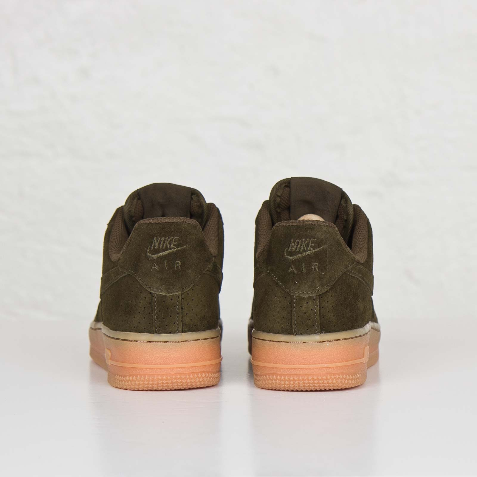 nike air force 1 groen suede