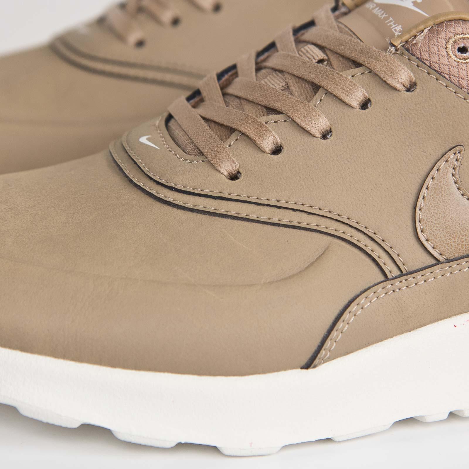 nike air max thea mens brown desert leather priemium