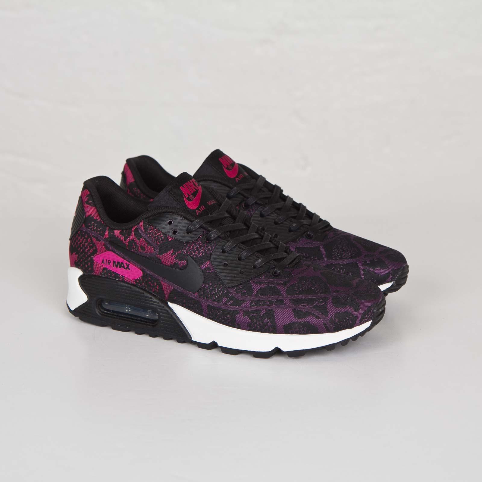 design intemporel d4a4a c8392 Nike Wmns Air Max 90 Jacquard - 749326-500 - Sneakersnstuff ...