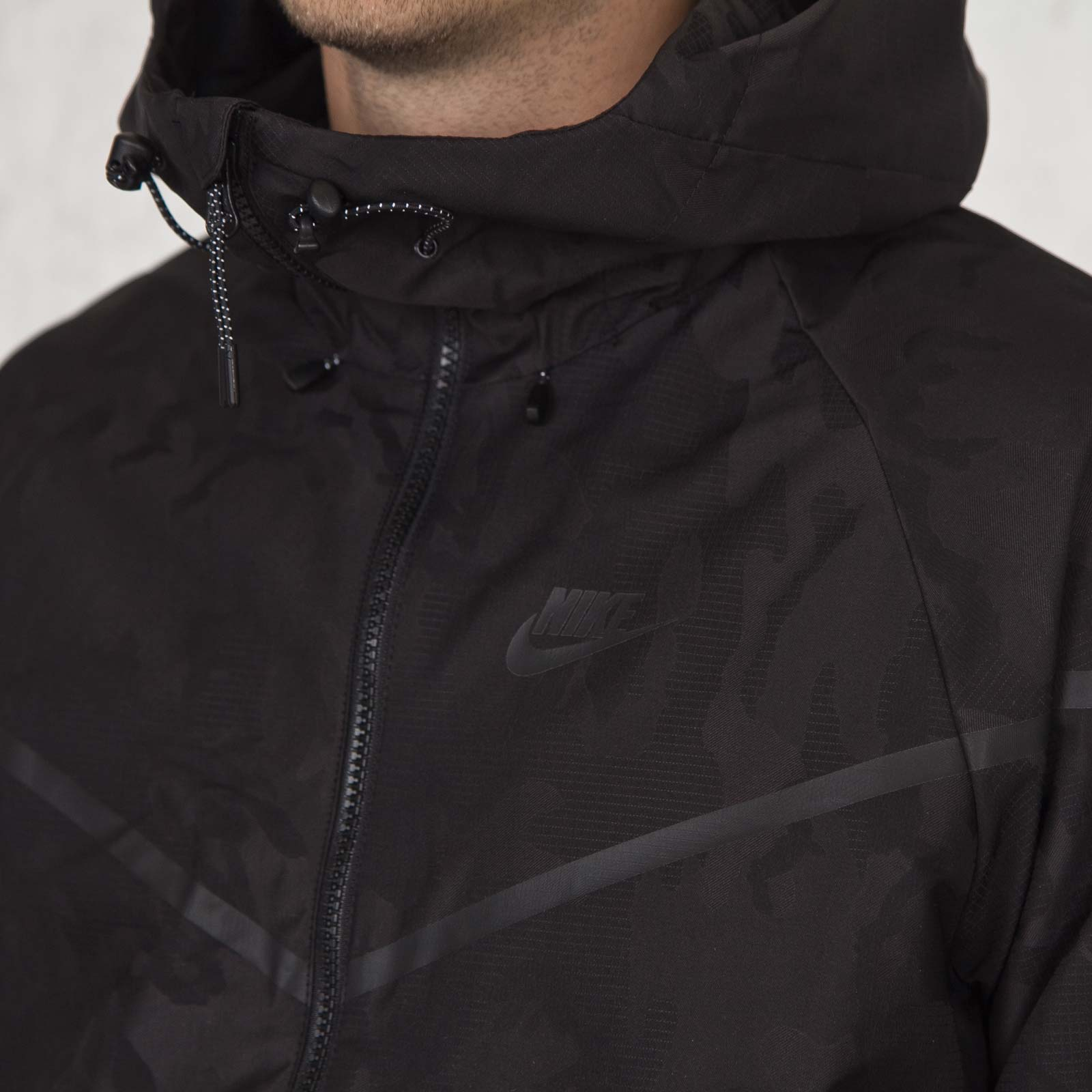 b0c86be7beea Nike Bonded Woven Windrunner - Camo - 678635-010 - Sneakersnstuff ...