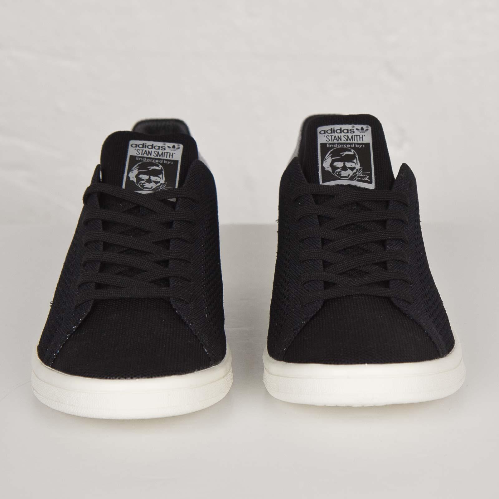 best service a7913 b05c1 good adidas stan smith all black primeknit d3f87 e513e