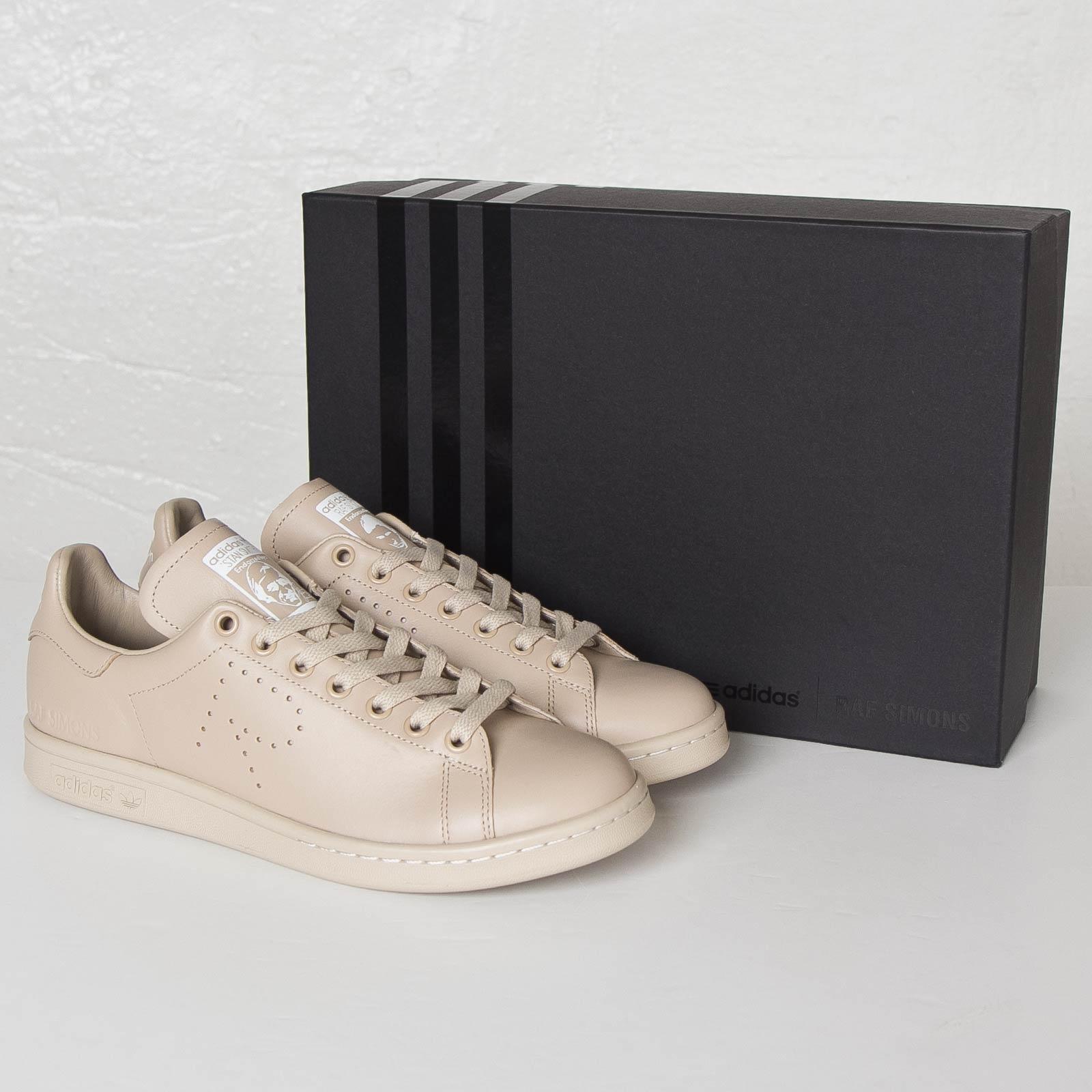 raf simons adidas stan smith dust sand