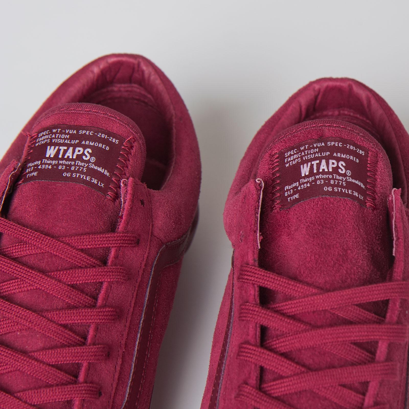 16a78510b2 Vans OG Style 36 LX (Wtaps) - Vsf5h1x - Sneakersnstuff