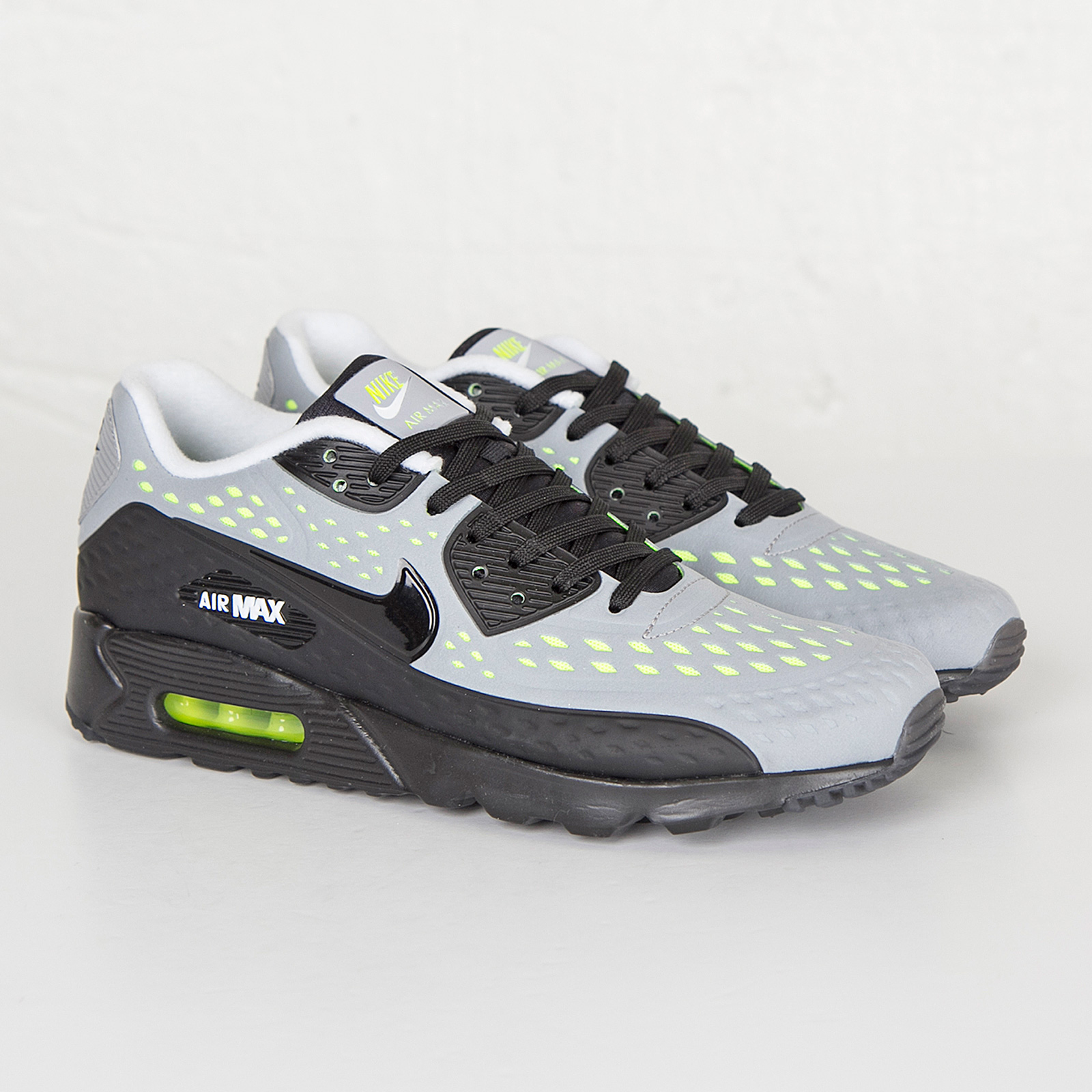 Nike Air Max 90 Leather Trainer Mens Trainers Wolf Grey