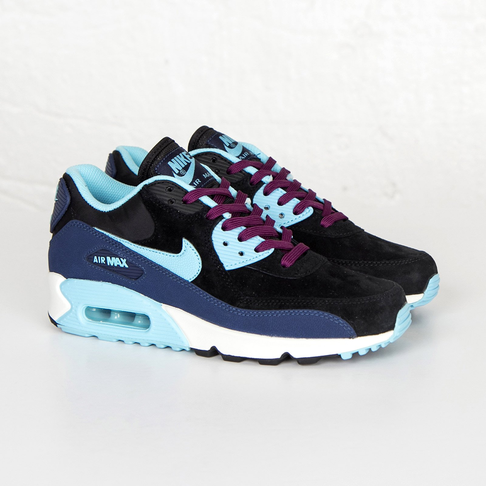 Nike Wmns Air Max 90 Leather - 768887-400 - Sneakersnstuff ... 1175be6004b