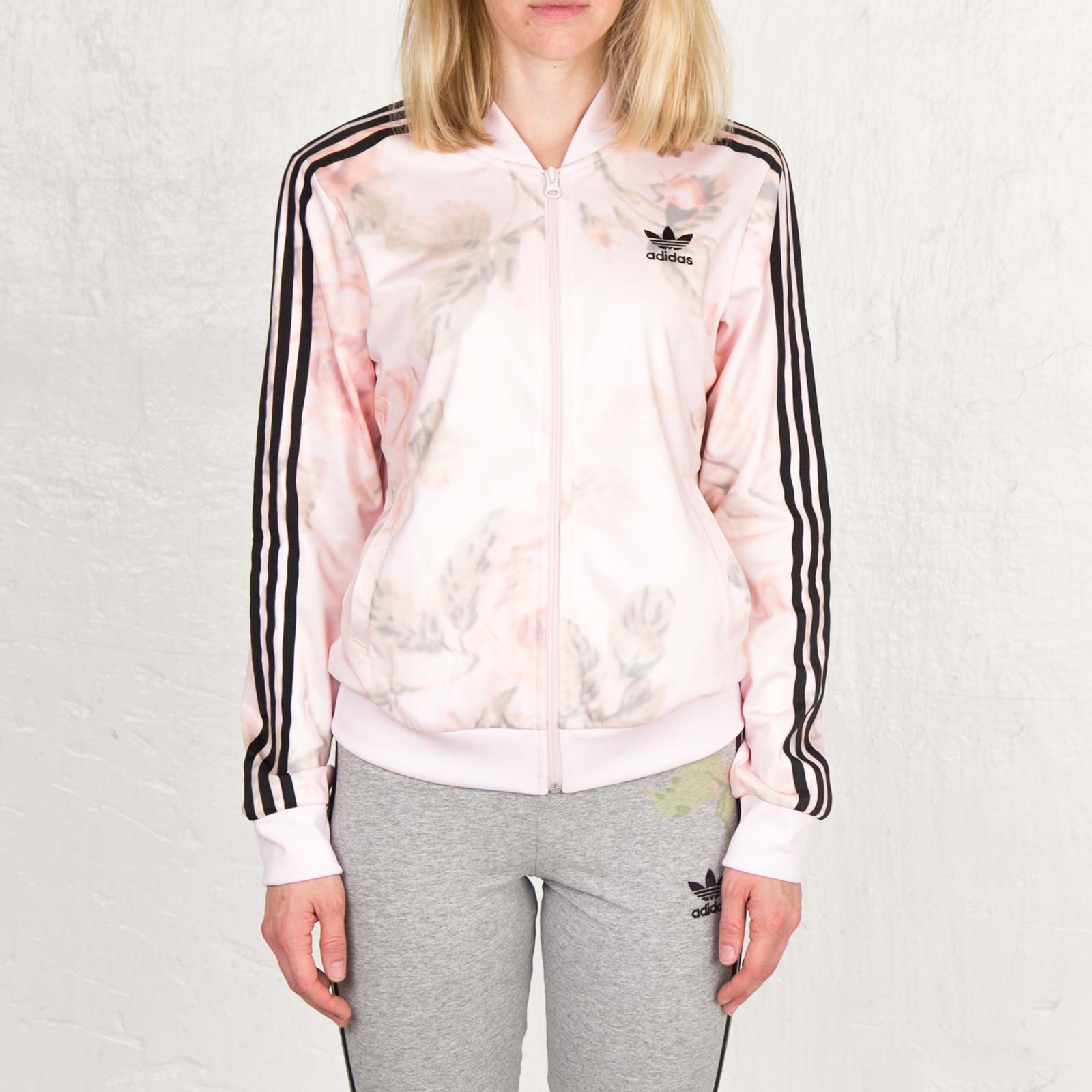 adidas Pastel Rose TT W Chaqueta rosa