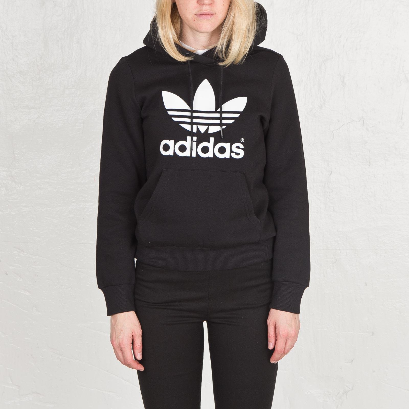 adidas TRF Hoodie (grau weiß) | 43einhalb Sneaker Store