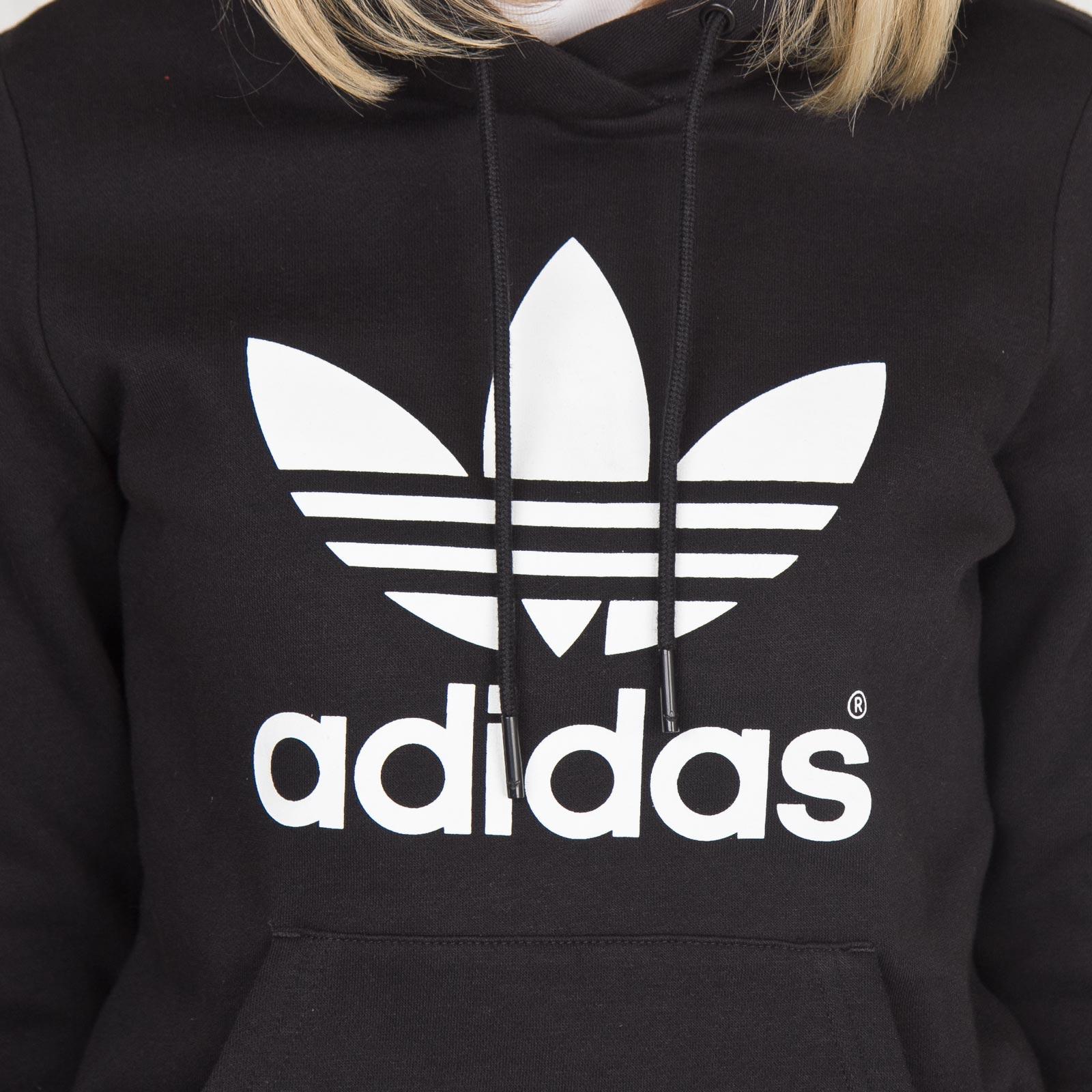 adidas hoodie dam svart
