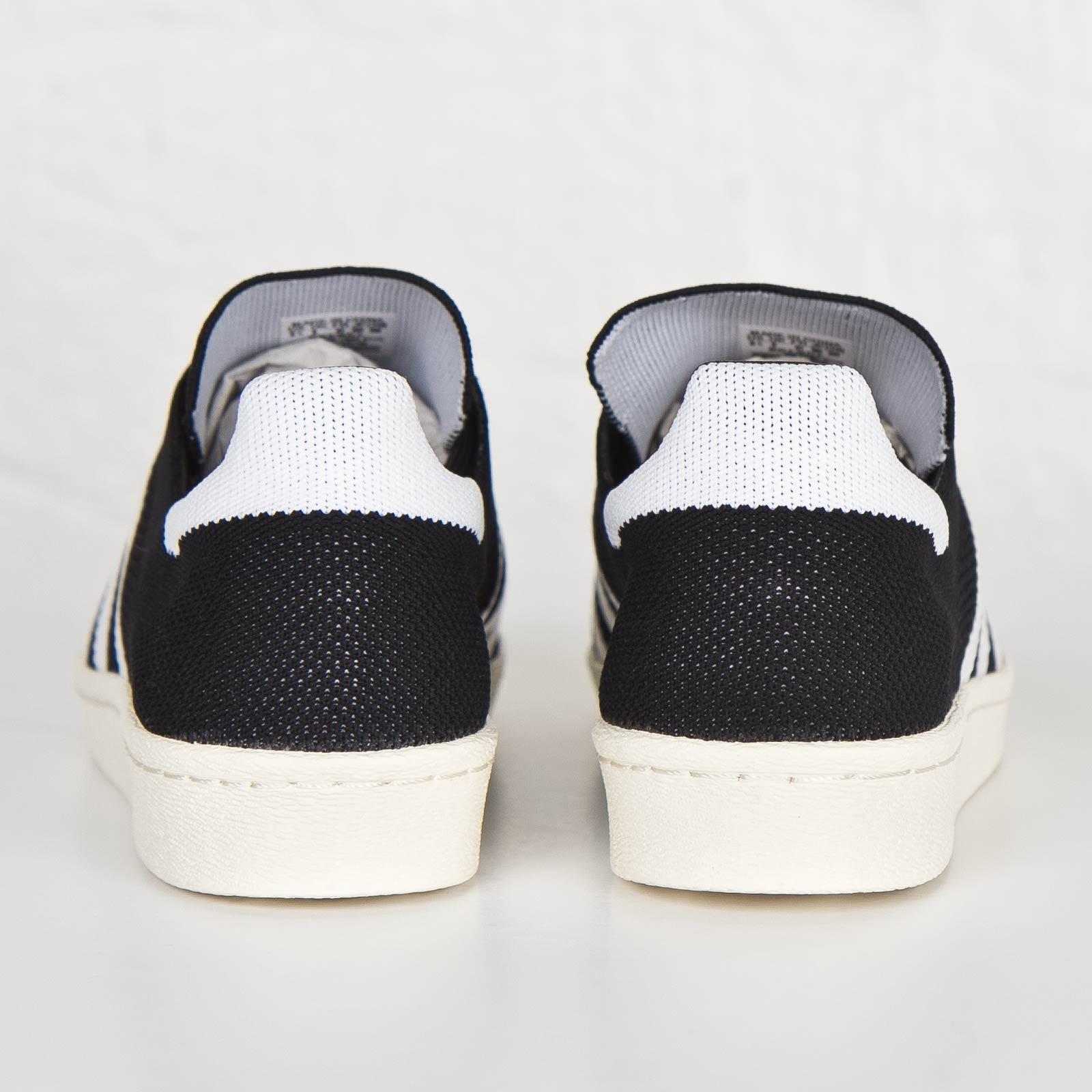 Adidas Originals Superstar 80s Primeknit BLACK WHITE GOLD