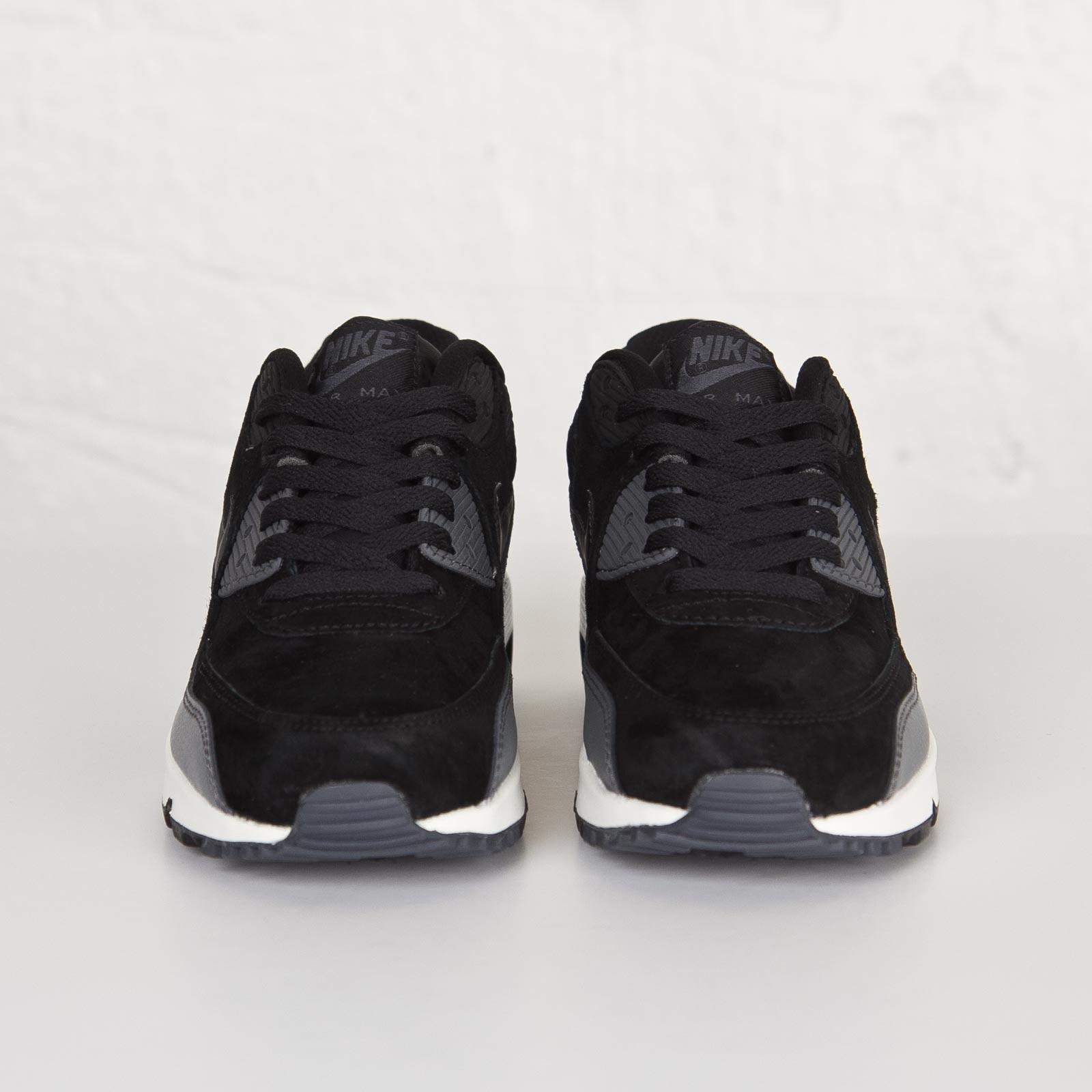 Nike Air Max 90 Leather Black Metallic Hematite Zapatillas