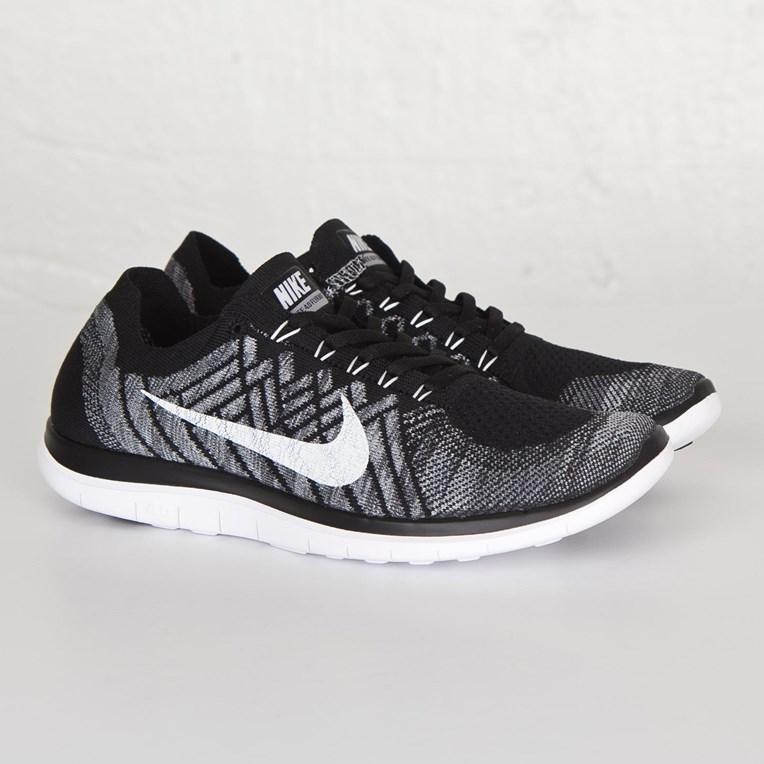 6531e2379a8 Nike Free 4.0 Flyknit - 717075-001 - Sneakersnstuff
