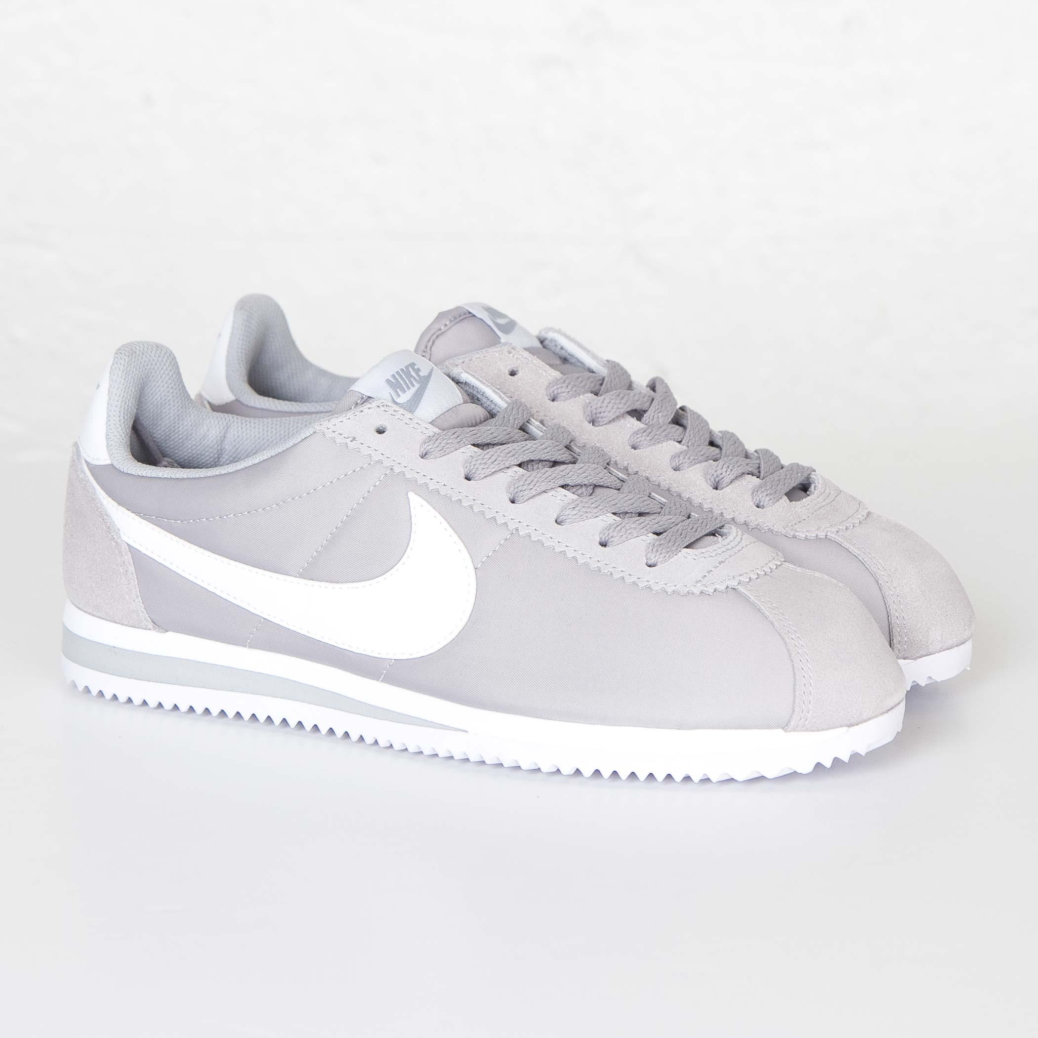 uk availability 13330 a6240 ... gris negro blanco retro zapatos d0f76 9e938  coupon code for nike  classic cortez nylon 6394d a66fb