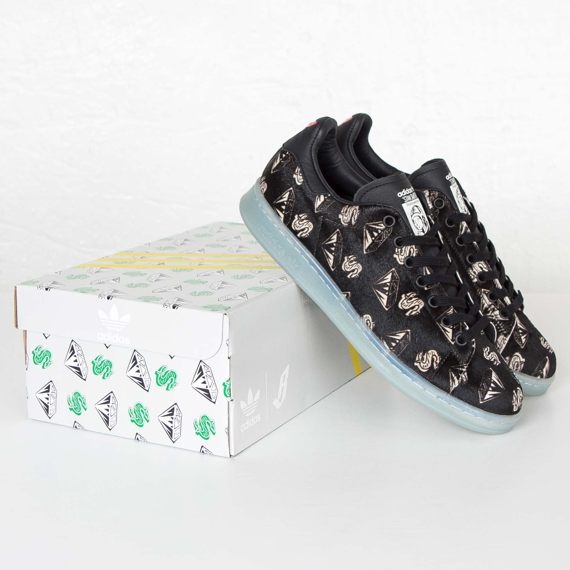 check out af954 7b4b6 adidas PW BBC Stan Smith Ponyhair - S32038 - Sneakersnstuff ...