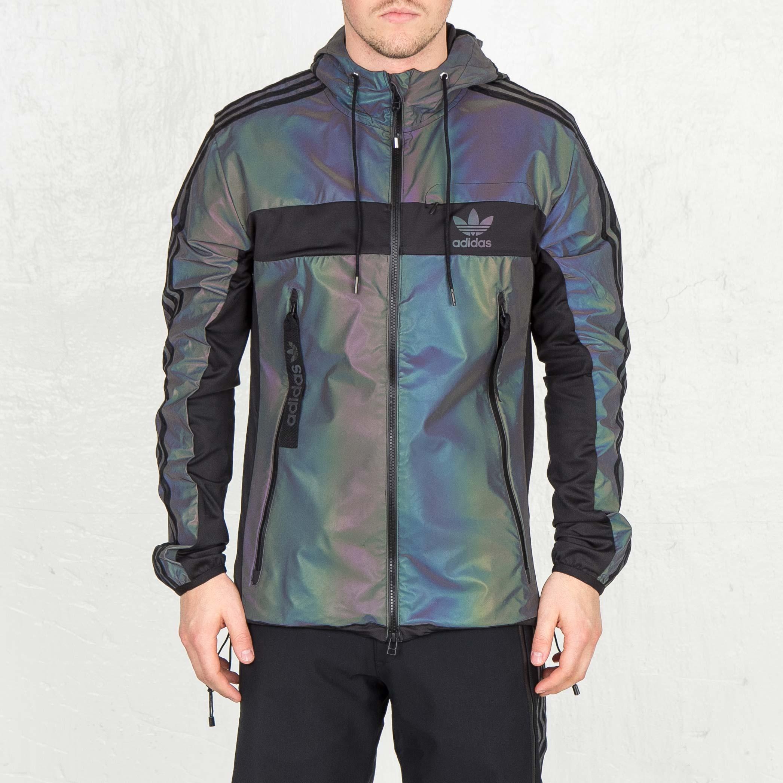 adidas xeno windbreaker jacket multicolourblack | Adidas