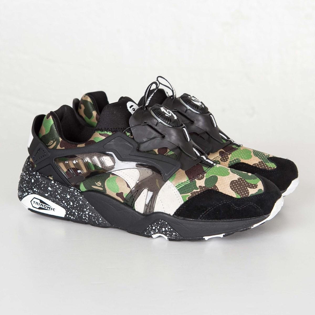 141de542db786 Puma Disc Blaze x Bape - 358846-01 - Sneakersnstuff | sneakers & streetwear  online since 1999
