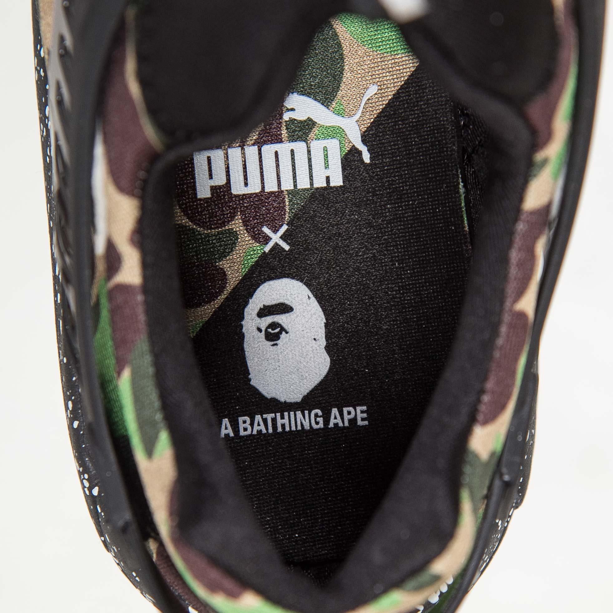 67afc3e690b7 Puma Disc Blaze x Bape - 358846-01 - Sneakersnstuff